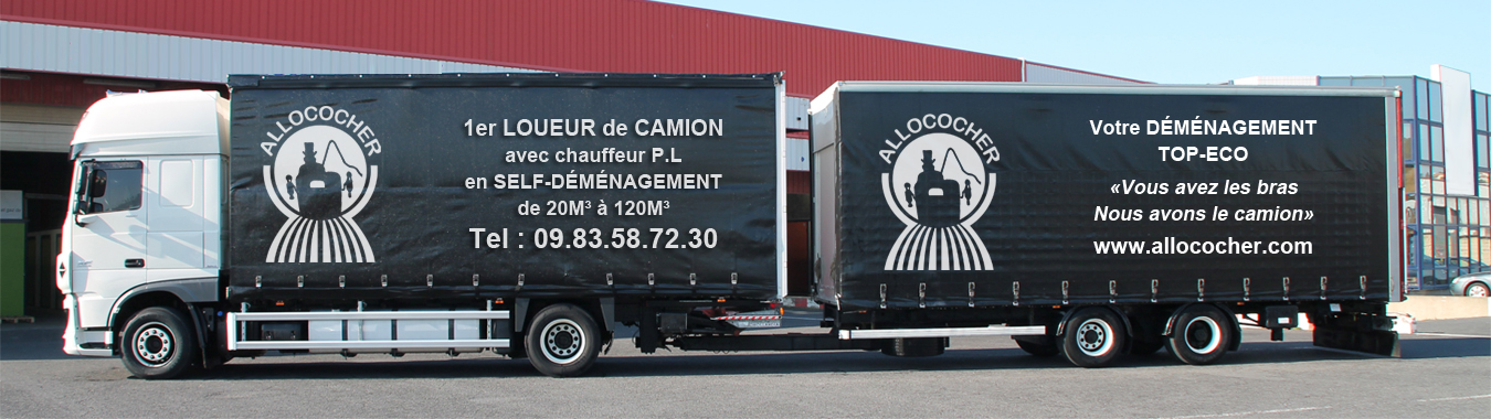 demenagement camion avec chauffeur. Black Bedroom Furniture Sets. Home Design Ideas